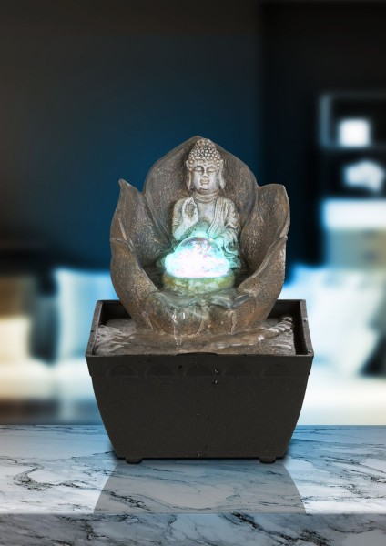 LED-Brunnen ALBERT Buddha 13x13