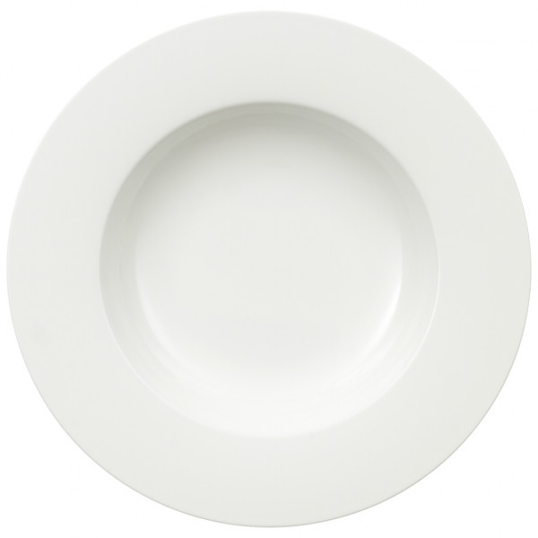Noblesse Suppenteller 24cm Bone China weiss