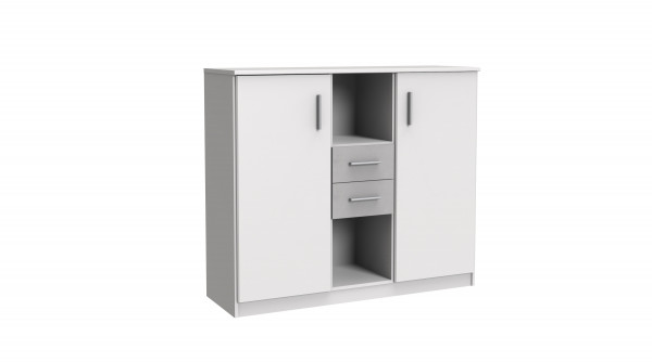 Jojo Highboard weiß inkl.Soft-Close