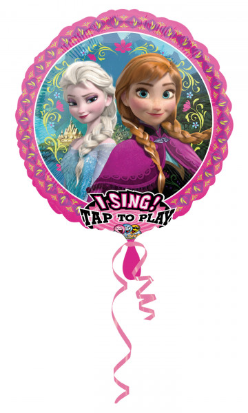 Folienballon Sing-A-Tune Frozen